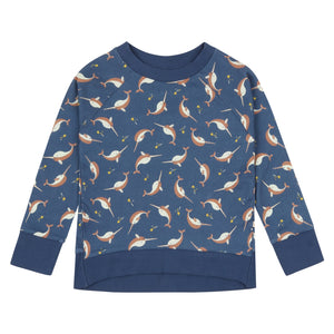 Piccalilly Sweatshirt -  Narwhals