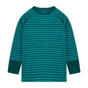 Piccalilly Ribbed Top - Lake Blue