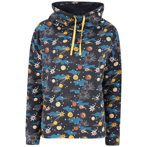 Piccalilly Adult Funnel Neck Sweatshirt - Solar Space