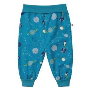 Piccalilly Pull-Up Trousers - Space