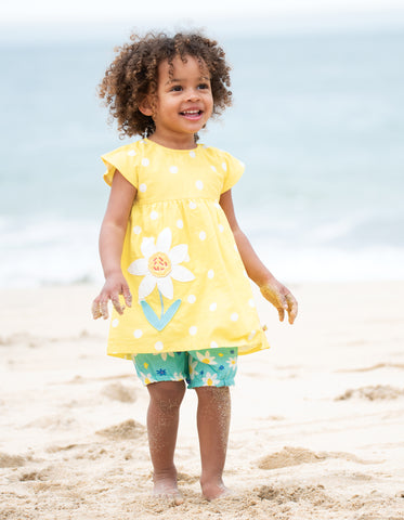 Image of Frugi Waterfall Woven Outfit - Daffodil Days/Daffodil - Tilly & Jasper