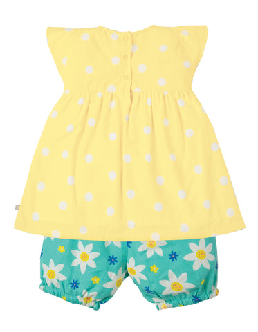 Frugi Waterfall Woven Outfit - Daffodil Days/Daffodil - Tilly & Jasper