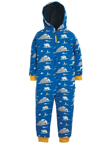 Frugi Big Snuggle Suit - Polar Play - Tilly & Jasper