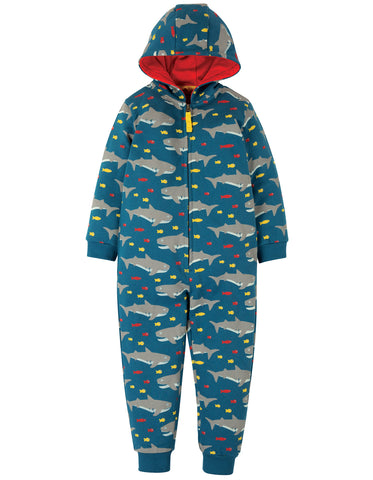 Image of Frugi Big Snuggle Suit - Sharking Around