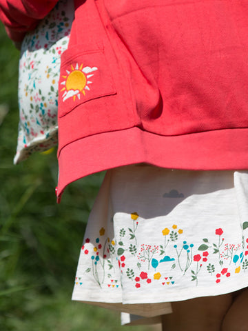Image of LGR  Botanical Story Time Dress - Organic Cotton