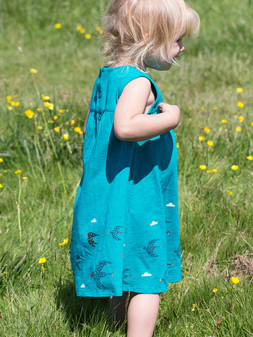 Image of LGR  Flying South Story Time Dress - Organic Cotton
