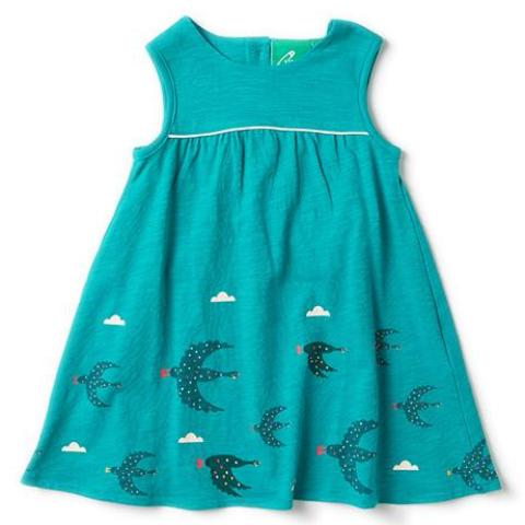 LGR  Flying South Story Time Dress - Organic Cotton