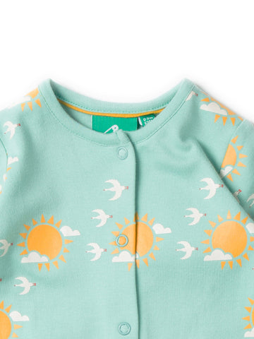 LGR Follow  The Sun Babygrow - Organic Cotton