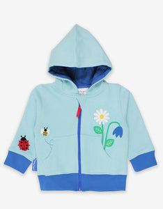 Toby Tiger English Garden Applique Hoodie