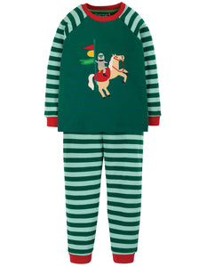 Frugi Ace PJs -  Scots Pine/Knight