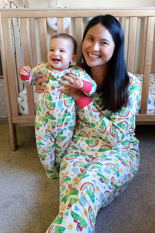 Frugi Porthtowan Pyjamas - Happy Days