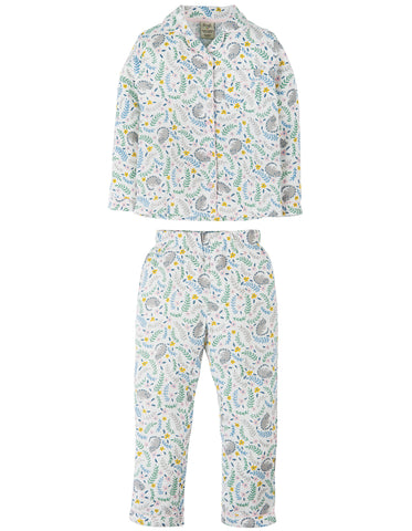Image of Frugi Clementine Cotton PJs - Cosy Cats - Tilly & Jasper