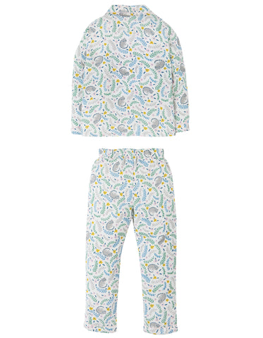 Frugi Clementine Cotton PJs - Cosy Cats - Tilly & Jasper