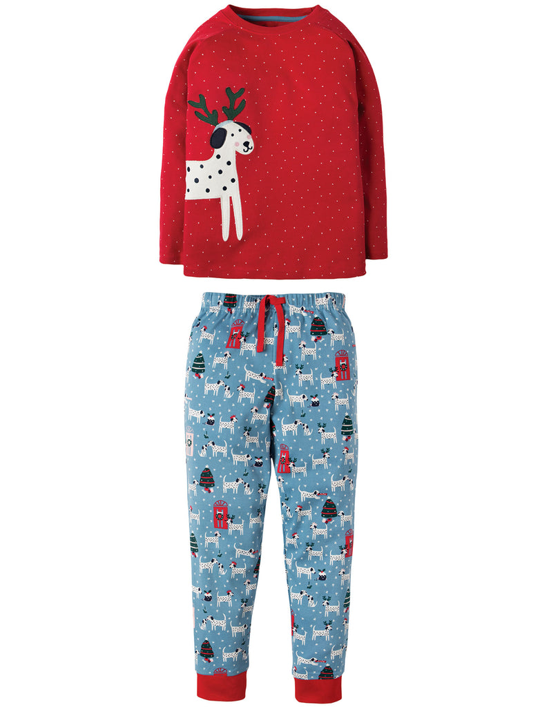 Frugi Jamie Jim Jams - Dotty Dalmatians/Dog