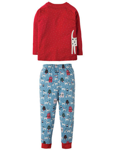 Frugi Jamie Jim Jams - Dotty Dalmatians/Dog - Tilly & Jasper