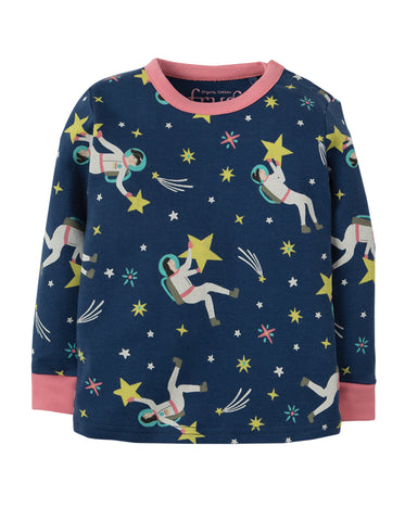 Frugi Little Long John PJs - Shooting Stars - Tilly & Jasper