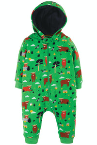 Frugi Snuggle Suit -  Highland Cow