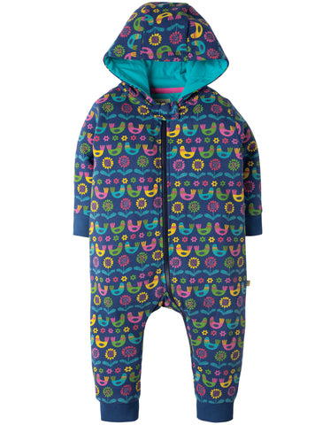 Image of Frugi Snuggle Suit -  Scandi Birds