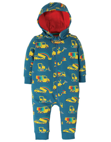 Image of Frugi Snuggle Suit - Dig A Rainbow
