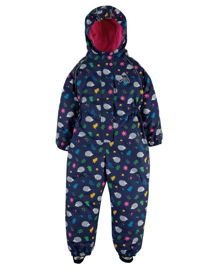Frugi Explorer Waterproof All In One - Hedgehogs