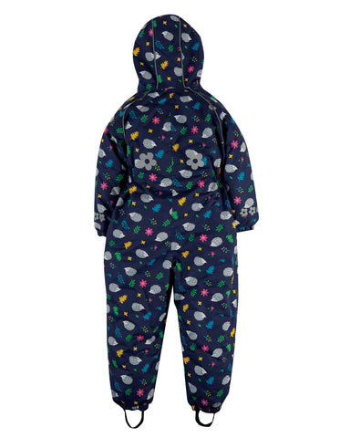 Image of Frugi Explorer Waterproof All In One - Hedgehogs