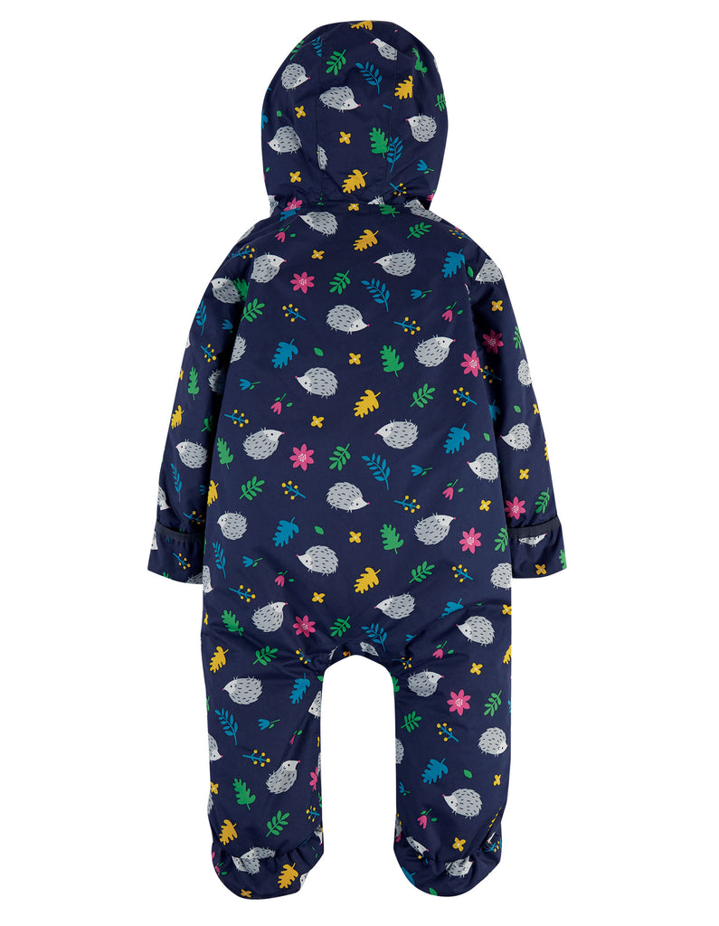 Frugi Explorer Waterproof All In One Suit - Hedgehogs