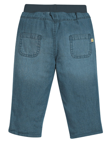 Frugi Comfy Lined Jeans - Chambray