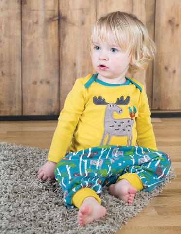 Frugi Parsnip Pants - Hide & Seek - Organic Cotton