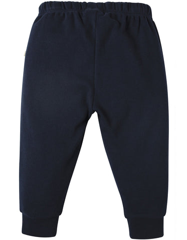 Image of Frugi Kneepatch Crawlers - Navy - Organic Cotton