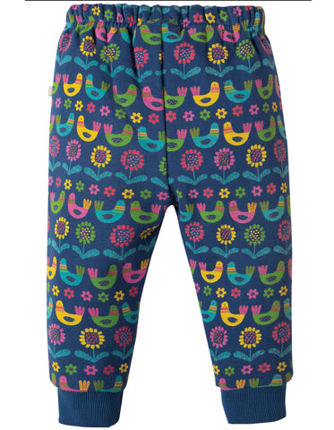 Frugi Snuggle Crawlers -  Scandi Birds - Organic Cotton