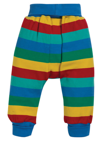 Image of Frugi Parsnip Pants - Rainbow Stripe