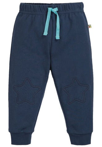 Frugi Kneepatch Crawlers - Space Blue - Tilly & Jasper
