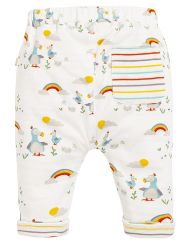 Image of Frugi Remi Reversible Pull Ups - Delightful Dodos