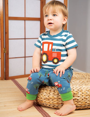 Frugi Parsnip Pants - Tractor Fields