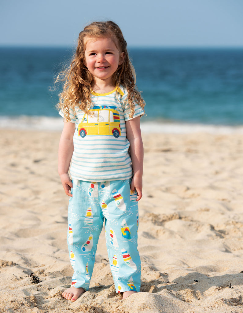 Frugi Pretty Pull Ups - Splashing About