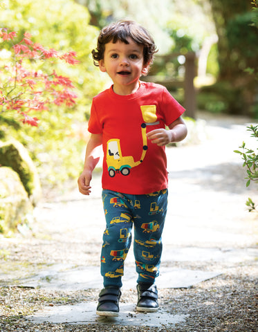 Image of Frugi Snuggle Crawlers - Dig A Rainbow