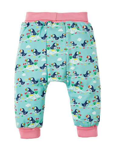 Image of Frugi Parsnip Pants - St Agnes Puffin Parade - Tilly & Jasper