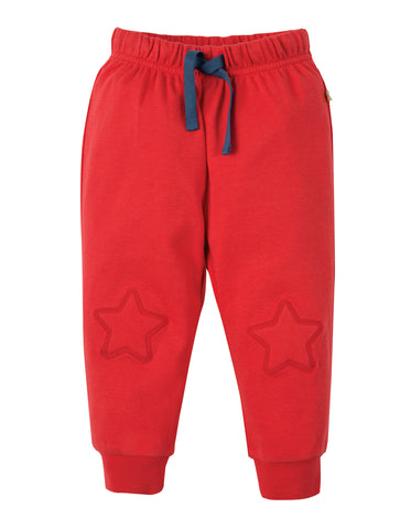 Image of Frugi Playtime Kneepatch Crawlers - Tomato - Tilly & Jasper