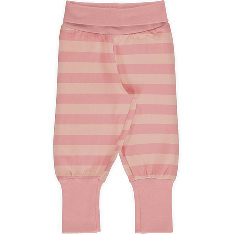 Maxomorra Rib Pants - Dusty Rose