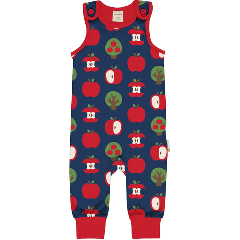 Maxomorra Dungarees - Apple