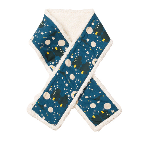 Image of LGR Moon & Stars Sherpa Scarf