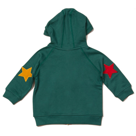 Image of LGR Sea Green Star Hoodie