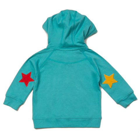 Image of LGR Peacock Blue Star Hoodie