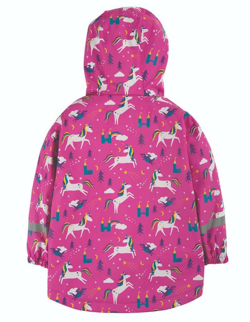 Frugi Puddle Buster Coat - Unicorn Puddles