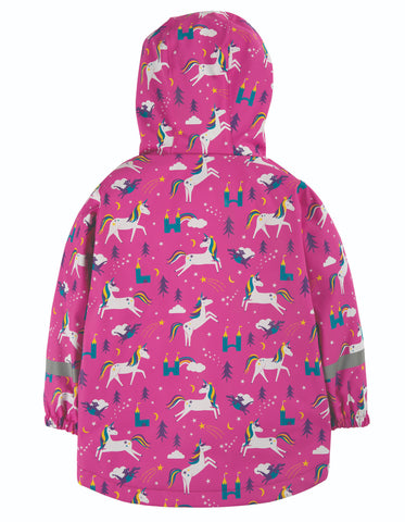 Image of Frugi Puddle Buster Coat - Unicorn Puddles