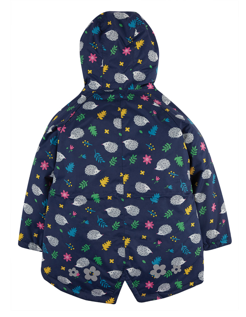Frugi Explorer Waterproof Coat - Hedgehogs