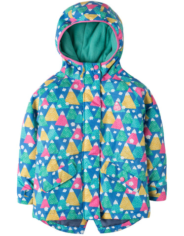 Frugi Nellie Explorer Waterproof Coat - Happy Hikers - Tilly & Jasper