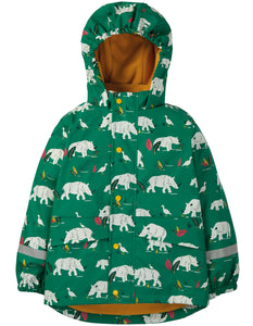 Frugi Puddle Buster Coat - Rhino Ramble
