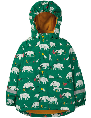Frugi Puddle Buster Coat - Rhino Ramble - Tilly & Jasper