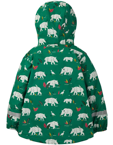 Image of Frugi Puddle Buster Coat - Rhino Ramble - Tilly & Jasper